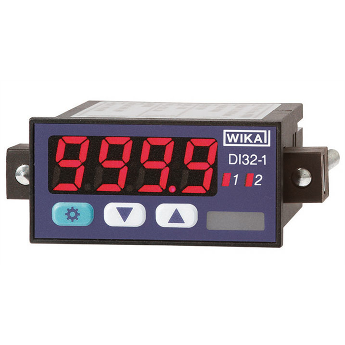 New digital indicator: Many functions, compact design