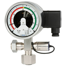 Gas density monitor