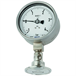 Pressure gauge per EN 837-1 with mounted diaphragm seal